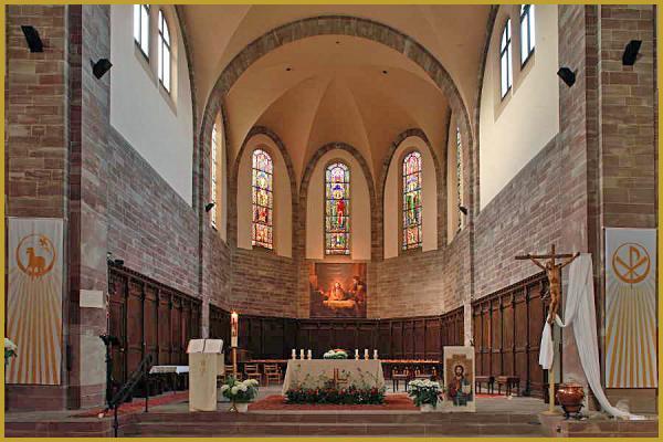 Photos de glise catholique saint louis de la robertsau strasbourg alsace - La table de louise strasbourg ...
