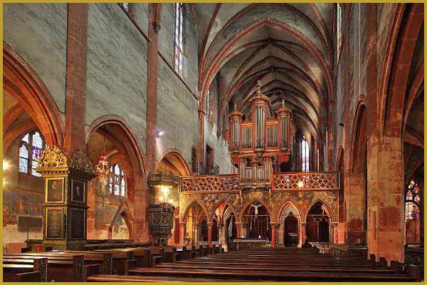 photos de architecture int rieur de l 39 glise saint pierre le jeune de strasbourg eglise saint. Black Bedroom Furniture Sets. Home Design Ideas