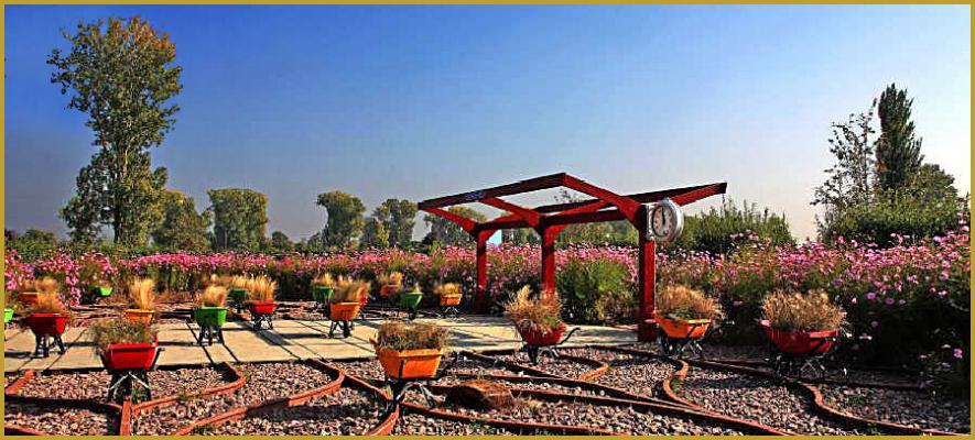 Photos de jardin des deux rives parcs de strasbourg for Jardin publiques
