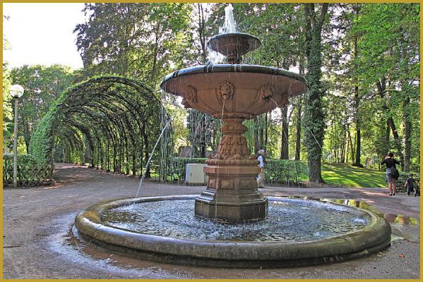 Photos de photos du parc de l 39 orangerie strasbourg parc de l 39 orangerie parcs de strasbourg for Petite fontaine exterieur