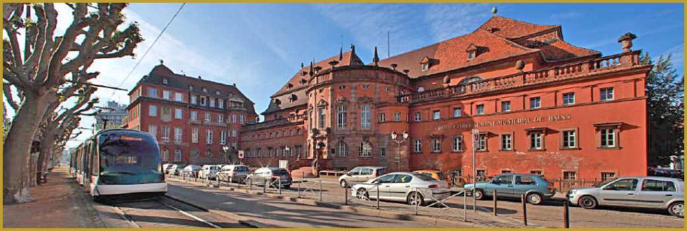 Photos de la neustadt dans le quartier allemand de for Hotel les bains alsace