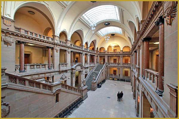 Photos de photos de l 39 int rieur du palais de justice de - Tribunal de grande instance de strasbourg chambre commerciale ...