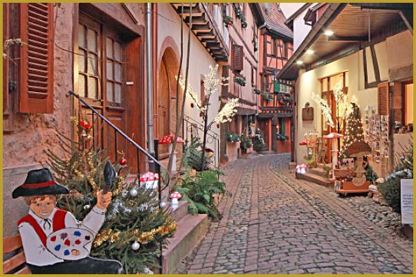 Photos de eguisheim alsace photos des plus beaux for Decoration de noel alsacienne