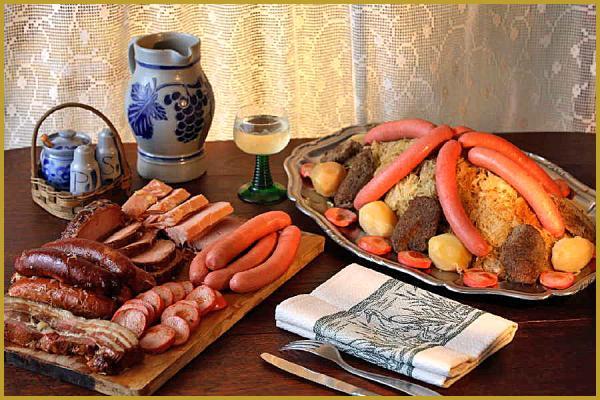 Photo de la choucroute - Alsace cuisine traditionnelle ...