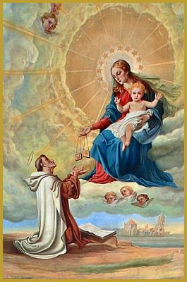 8 au 16 juillet Neuvaine à Notre Dame du Mont Carmel 42758